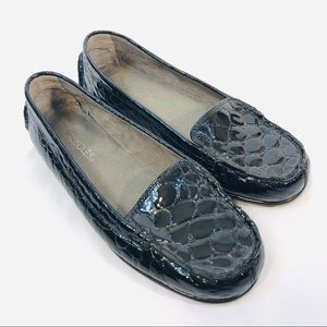Aerosoles Nu Day Black Patent Leather Loafers